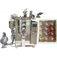 Quality Ketchup / Skin Lotion Automatic Pouch Packing Machine , Vertical Form Fill Seal Machine for sale