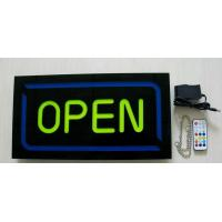 Reisn Open sign,shop sign,store sign, hanging  business sign, exit sign, no smoking sign open sign neon Manufactures