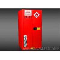 High Visibility Dangerous Goods Storage Cabinets , 1.0mm Thickness Steel Gas Storage Cabinets Manufactures