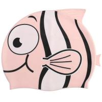 Buy cheap 100 % Silicone Swimming Pool Hat Cute Cartoon Easy On - And - Off from wholesalers