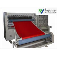 China Seat Cushion Winter Jacket Ultrasonic Embossing Machine 50-1200m/H Speed on sale