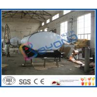 SUS316L Horizontal Milk Transport Tank With Insulation Layer 1000L-8000L Capacity Manufactures