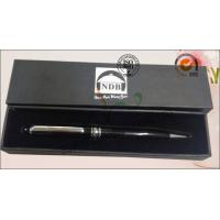 Luxury Rigid Cover Office Paper Box , Hard Cardboard Pen Presentation Packaging Box Manufactures