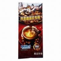 Coffee Packaging Bag with Side Gusset, PET/AL/PE, Good Printing, Customized Shapes/Designs Accepted Manufactures