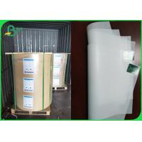 35gsm Machine Glazed White Butcher Wrapping Paper FDA Large Rolls Manufactures