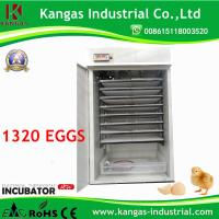 China CE Certificate Fully Automatic 176 Egg Incubator for Quail Eggs (KP-4) on sale