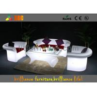 16 colors changeable LED Bar Tables / LED leisure table , Lighting cocktail table Manufactures