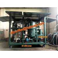 Buy cheap Weater proof enclosure Transformer Oil Processing Equipment, ZYD Vacuum Oil Purifier with cabinet, Filtration Expert from wholesalers