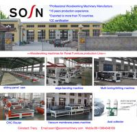 China SOSN sawing machine/panel saw/ sliding table saw for woodworking 3200mm cutting length on sale