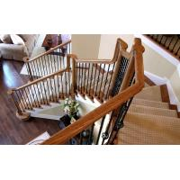 China Wear Resistant Cast Iron Stair Railing Rustproof For Outdoor / Indoor Stairs on sale