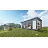 Luxury Moonbox Modern Prefab Houses Site Installation With Aluminum Frame Structure Manufactures
