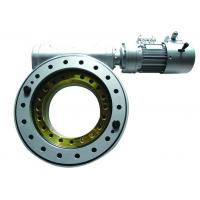 Electric Hydraulic Slew Drive , Worm Gear Slew Drive With Low Output Speeds Manufactures