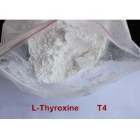 High Purity Safe Weight Loss Drug Levothyroxine T4 Powder CAS 51-48-9