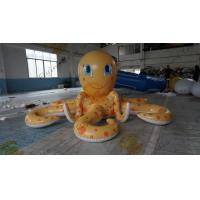 12m Giant Inflatable Advertising Products Outdoor Cartoon Inflatable Octopus Manufactures
