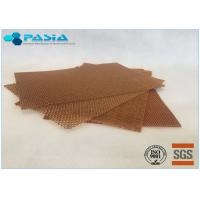 High Performance Aramid Honeycomb Panels Radomes High Temperature Resistance Manufactures