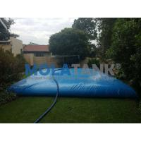 Quality hot sale folding pvc soft water storage tank  custom water baldder  35000L shape pillow tank for sale