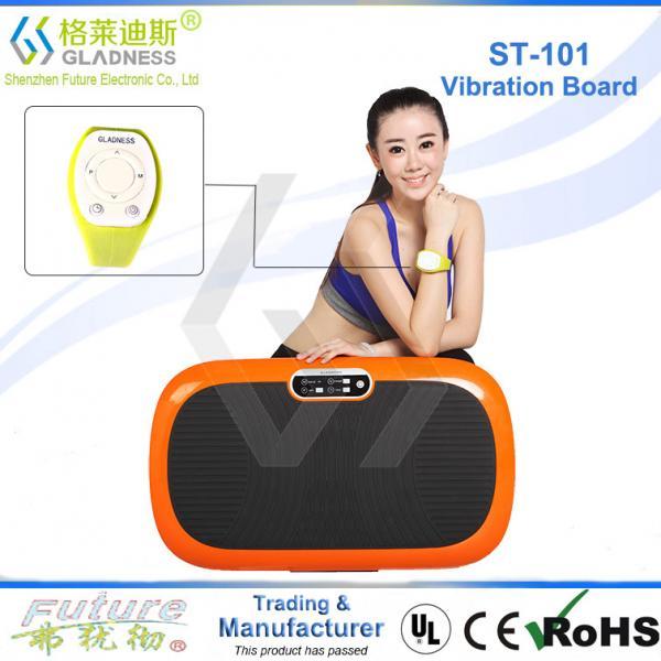 Quality Gladness Vibration Platform Fitness Massage Power Fit Vibration Plate for sale