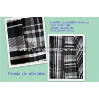 China Polyester yarn dyed fabric on sale