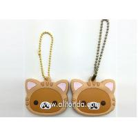 PVC key holders custom cartoon animal key holders supply and manufacturer Manufactures