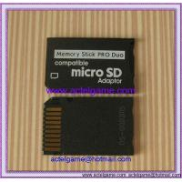Quality PSP microSD to MS PRO Duo Adapter PSP repair parts for sale
