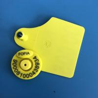 cattle livestock  FDX-B rfid electronic tag Animal Ear Tag For animal Management Manufactures