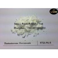 China CAS 5721 91 5 Testosterone Raw Powder Steroid Male Enhancer Test Decanoate C29H46O3 on sale
