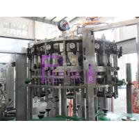 Beer Bottle 3-in-1 Rinsing Filling Capping Machine , Liquid Filler Equipment Manufactures