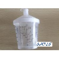 600ml Disposable Mixing Painting Cup Auto Plastic Single Use Gravity Patented Cup Manufactures