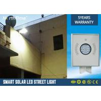 1200lm Solar Powered LED Street Lights 350 * 310 * 45MM 5 years Warranty Manufactures