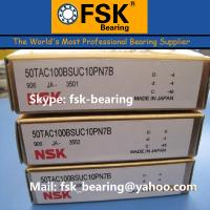 China High Precision Mainshaft Bearing 50TAC100BSUC10PN7B Ball Screw Bearing on sale