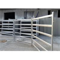 Welded Horse Fence Panels Galavized Cattle Fence Gate For ISO9001 / CE Manufactures