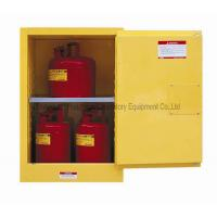 China 51mm Tank Flammable Safety Cabinet Single Door For Corrosive Chemicals on sale