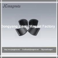 Strontium Ferrite Segment Magnets, Suitable for MotorGenerator, Customized ShapesSize are Accepted Manufactures