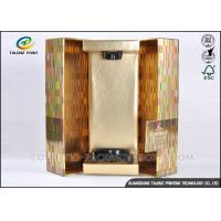 Coated Paper Wine Box Matt Lamination Surface Beverage Packaging Boxes Manufactures