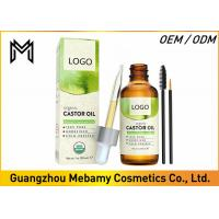 100% Pure Cold Pressed Castor Oil  Hexane Free Boosts Eyelashes / Hair Growth Manufactures