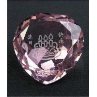 Crystal Heart Shape Diamond for Home Decoration Manufactures