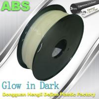 Markerbot , RepRap Glow in The Dark 3d Printer Filament  , 3D Printing Filament ABS Manufactures