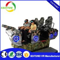 virtual reality 9D VR Equipment 6 seats motion ride 9D VR cinema Manufactures