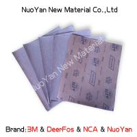 Metal 1000 Grit Wet Or Dry Sandpaper Aluminium Oxide  Silicon Carbide Coated Manufactures