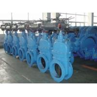 SUFA Brand Flange Electric Motor Operated Valve Resilient Seated Gate Valve Manufactures