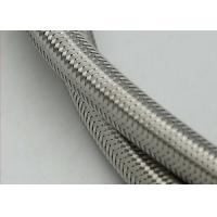 Emf Metal Protection Stainless Steel Braided Cable Sleeving With SGS Approval Manufactures