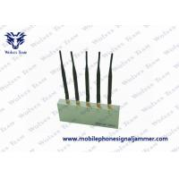 5 Antenna With Remote Control Mobile Phone Signal Jammer Manufactures