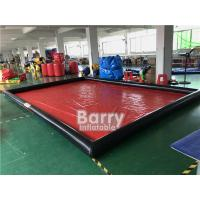 Airtight Cleaning Inflatable Car Wash Mat / Inflatable Water Containment Mat Manufactures