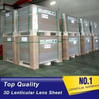 Chinese OK3D Widely-used Plastic PS/PET Material 75/100/161 Lpi 3D Film Lenticular Lens Sheet Manufactures