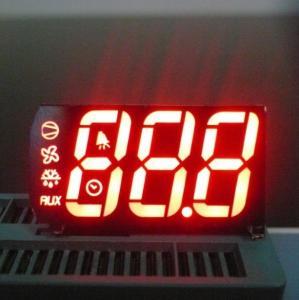 Custom LED Display , Triple Digit 7 Segment Led Display For Cooling Control Manufactures