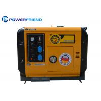 China Super Small Quiet Generators Single Phase 5kva / 5Kw Portable Diesel Generator on sale