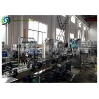 Small Scale 1L Pet Bottle Mineral / Pure Water Filling Machine / Beverage Production Line Manufactures