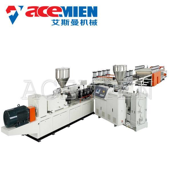 Quality 380V 50HZ 3Phase Foam Plate Making Machine PVC Foam Board Production Line for sale