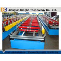 China Trapezoid Roof Panel Forming Machine With Chain Transmission For Greenhouses on sale