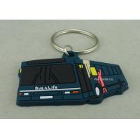 Custom Soft PVC Keychain , Promotional 2D Custom Rubber Keychains Manufactures